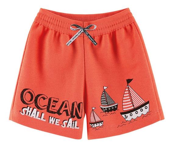 Kit 4 Bermudas Menino Roupas Infantil Shorts Verão Atacado