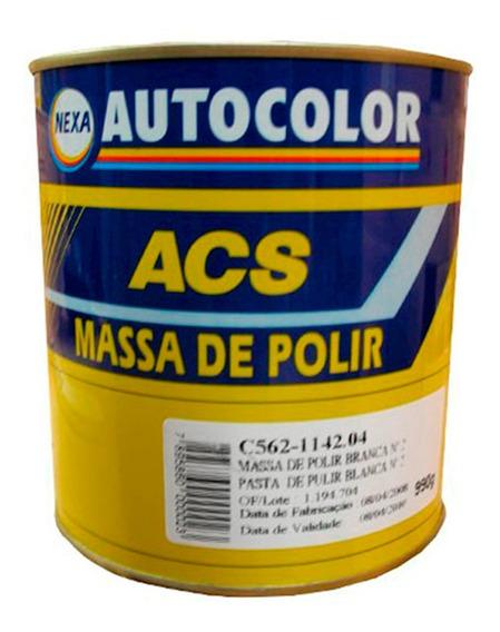 Ppg Acs Autocolor Massa De Polir Nº2 Branca Automotivo 990g