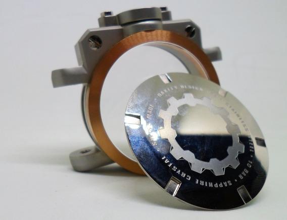 Tampa Caixa Relógio Oakley Gearbox 24k Original Raridade