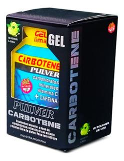 Carbotene Gel Pulver Cafeina 10 Geles X 40 Gramos Energia Ya