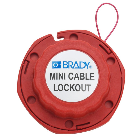 Mini Bloqueio A Cabo De Aço Brady 50940 50940