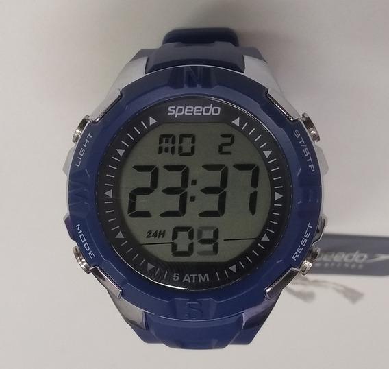 Relógio Speedo S1095g0evnp1 Azul Novo De Vitrine
