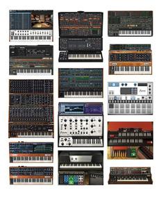 Vst Arturia V Collection Korg Legancy Pianos Sintetizadores