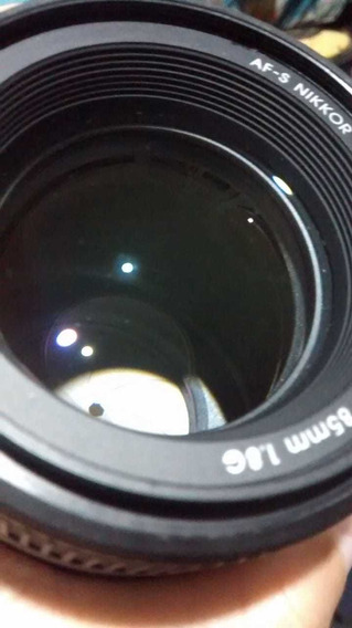 Lente Nikon 85mm F 1.8g