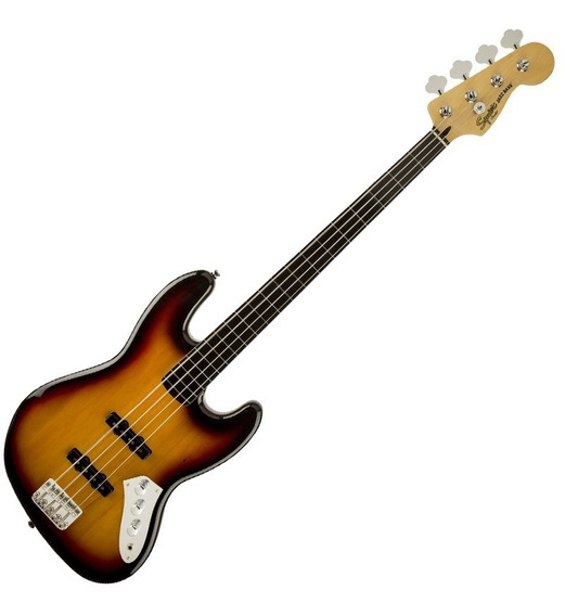 Contrabaixo Fender 030 6608 Squier Vintage J. Bass Fretless