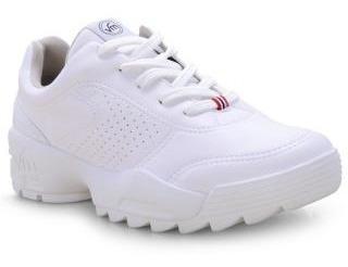 Zapatillas Mujer Blancas Vía Marte 19-4405 Importadas