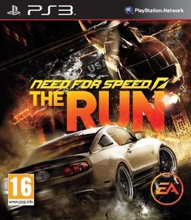 Need For Speed The Run Ps3 Original Entrega Inmediata