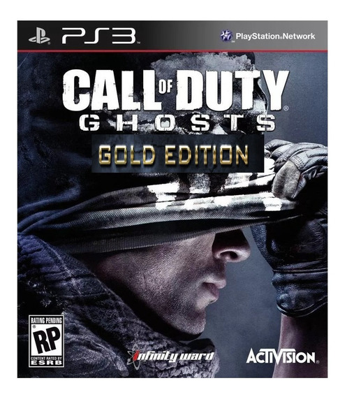 Jogo Call Of Duty Ghosts Gold Edition Ps3 Ps3 Play 3 Ingles