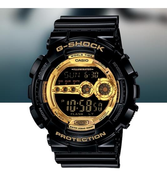 Relógio Casio G-shock Masculino Digital Gd-100gb-1dr Preto