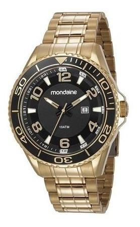 Relógio Mondaine Dourado Masculino 83414gpmvds2