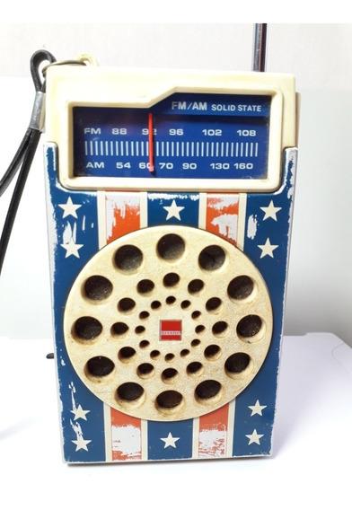 Rádio Antigo Sharp Item Colecionador Muito Raro.