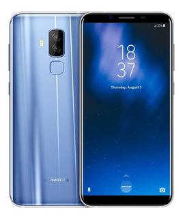 Azul Móvil Homtom S8 4g De 4g/64gbteléfono