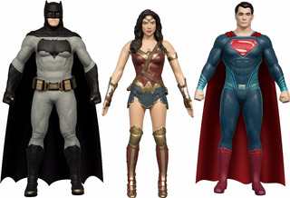 Liga De La Justicia Figuras Batman Superman Mujer Maravilla