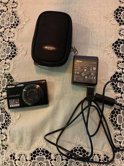 Câmera Nikon Coolpix S3000 12 Megapixéis Impecável