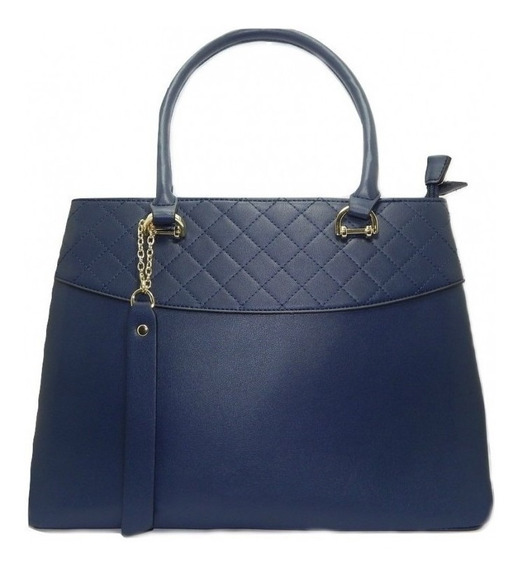 Bolsa De Ombro Davinci Elegância Feminina Dv01478 - Azul