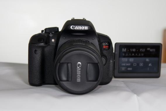 Canon T5i + Lente 18-55 (zerada)