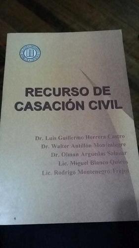 Recurso De Casacion Civil. 1996