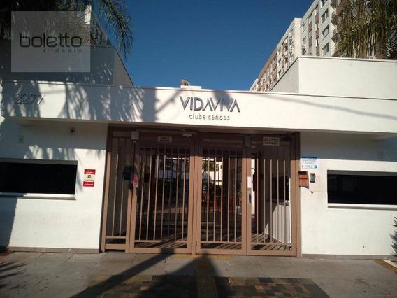 Boletto Imóveis Aluga Apartamento Semi Mobiliado, 3 Dormitórios, 1 Suite, 2 Banheiros, 3 Ar Condicionado Split, Portaria 24hs, Infra De Club - Ap1634