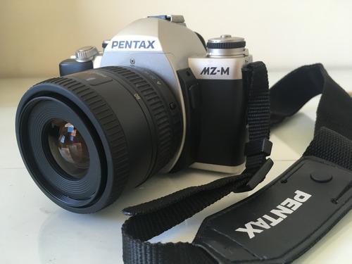 Câmera Pentax Mz-m, Slr, Analógica, Com Lente 35-80 Mm