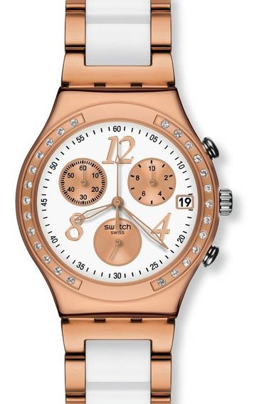 Reloj Swatch Dreawhite Rose Ycg406g