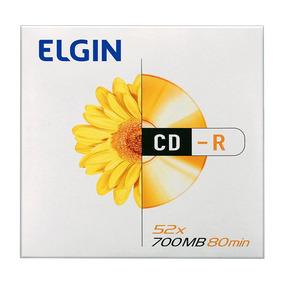 Cd-rom Elgin Midia 700mb 80min 52x Envelope