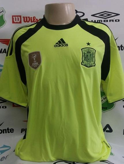 Camisa Oficial Espanha Goleiro adidas Tamanho Gg