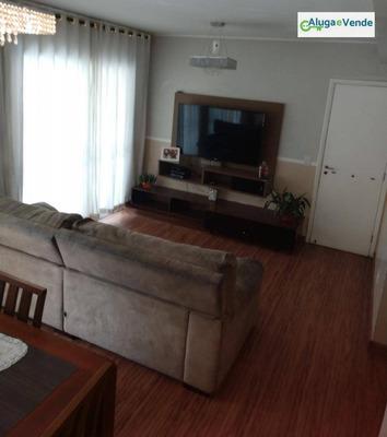 Apartamento Com 4 Dormitórios À Venda No Condomínio Parque Clube, 134 M² Por R$ 725.000 - Vila Augusta - Guarulhos/sp - Ap0037
