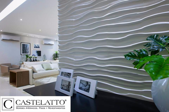 Paneles Decorativos Revestimiento De Pared 3d Castelatto