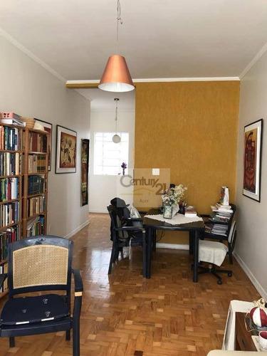 Apartamento À Venda, 90 M² Por R$ 720.000,00 - Higienópolis - São Paulo/sp - Ap1638