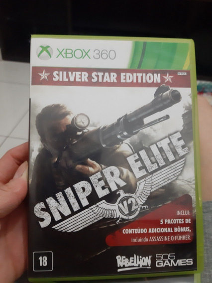 Silver Star Edition Sniper Elite V2 Xbox 360