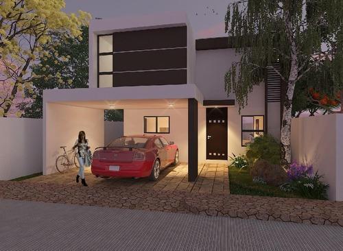 Casa En Venta,privada Botánico,mod 210,lote89 ,conkal,mérida,yucatán