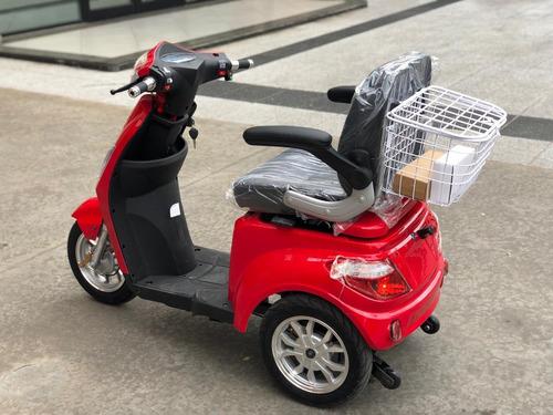 Triciclo Sunra Shino Bateria Litio P/ Golf Discapacitados