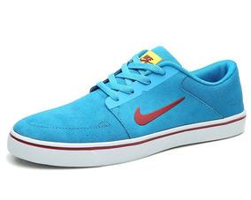 Tênis Nike Sb Portmore - Masculino Azul Turquesa - Original