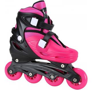 Kit Patins Radical Roller Infantil Com Capacete E Proteções