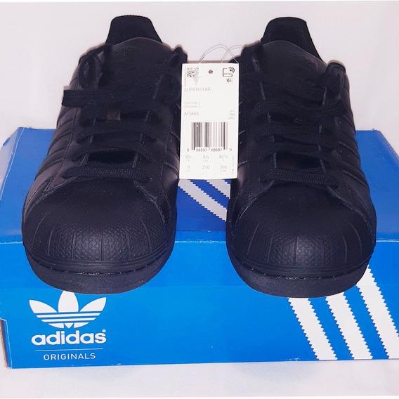Tenis adidas Superstar-af5666 H No 27 Cm (unicos) Originales