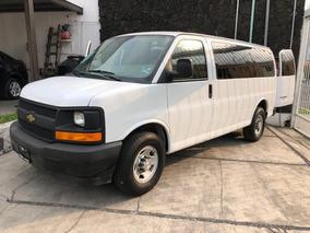 Chevrolet Express Van 2017 12 Pasajeros Automática