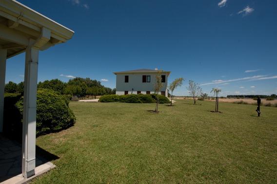 Barrio Laguna Vitel, Casa En Alquiler Temporal, Chascomus.-