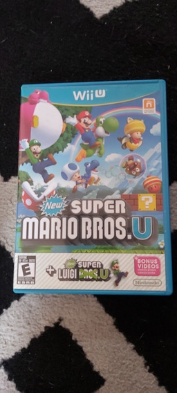 Super Mario Bros U Em Midia Fisica Para Nintendo Wiiu