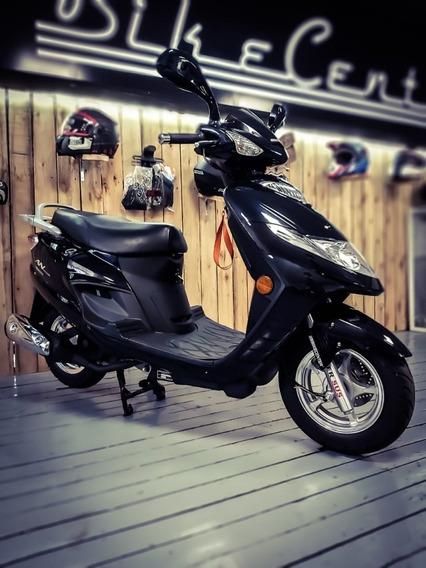 Moto Scooter Suzuki An 125 Negro Bikecenter