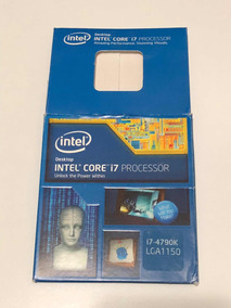 Caixa Do Processador I7 4790k (frete Incluso)