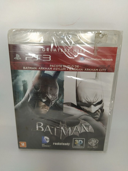 Jogo Batman Arkham City Ps3 Novo