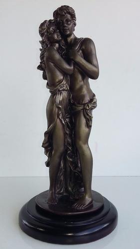 Abrazo De Pareja, Unión, Amor, Enamorados, Estatuas, Regalos