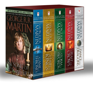 Box Set Saga Game Of Thrones (en Inglés) - George Rr Martin