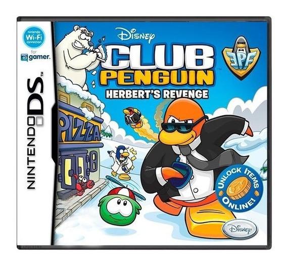 Club Penguin Herberts Revenge Ds Mídia Física Pronta Entrega