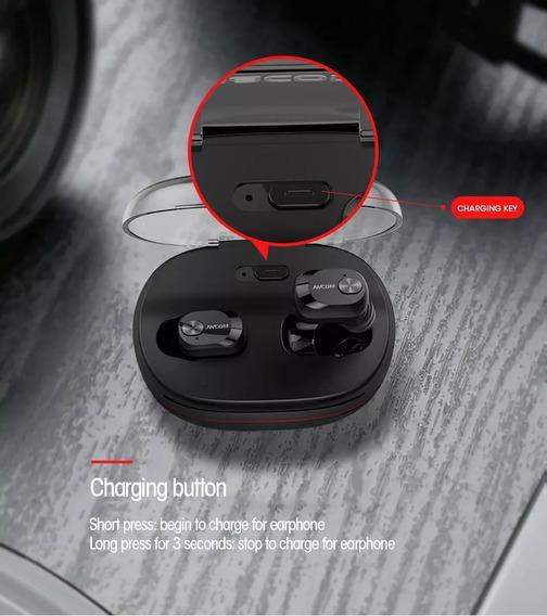 Fone De Ouvido Sem Fio Twins Bluetooth - Frete Gratis