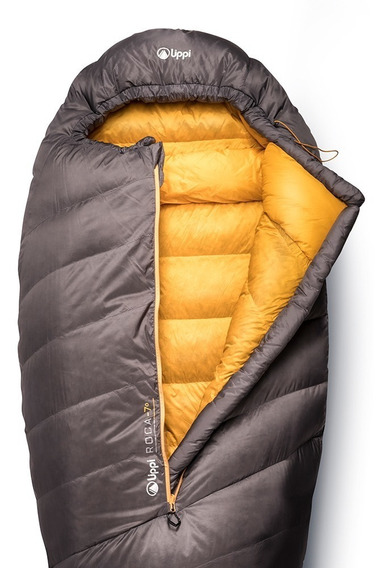 Roca -7 Down Sleeping Bag Gris Lippi