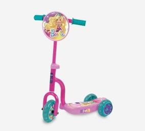 Scooter 3 Ruedas Barbie Unibike Soundgroup.
