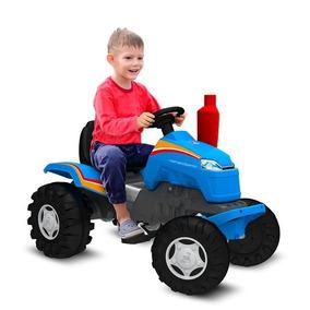 Mini Trator Pedal Country Fazenda Bandeirante Brinquedos 407