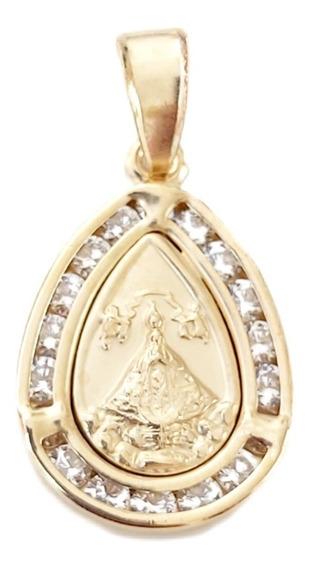 Medalla De Oro Laminado 14 Kilates. V.san Juan De Los Lagos.
