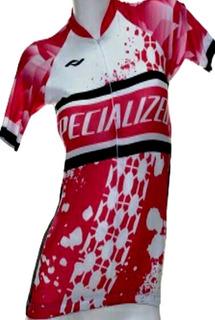 Remera De Ciclismo Specialized Mujer